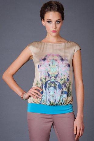 Блуза Флора