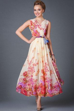 Платье Икебана