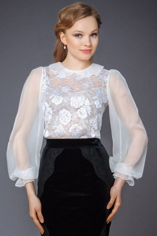 Блуза Суфле