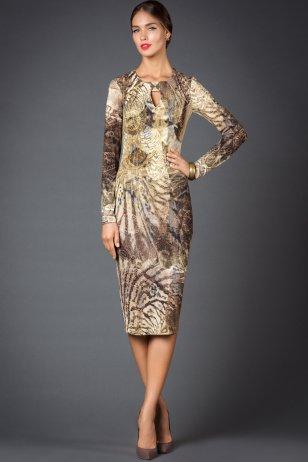 Платье Чеканка