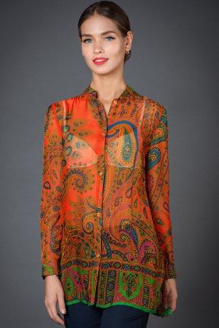 Блуза Расцвет