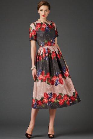 Платье Розетта