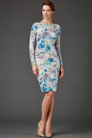 Платье Голубика