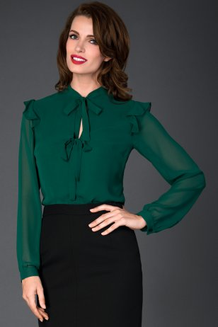Блуза Бирюса