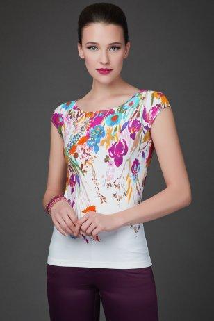 Блуза Лазурная