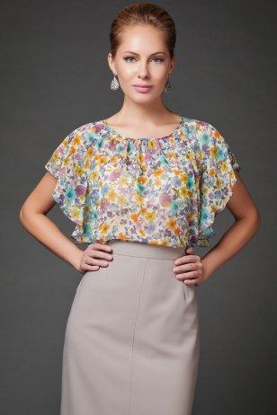 Блуза Цветочек