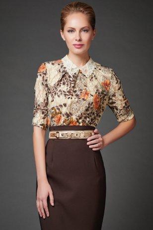 Блуза Шоколадка