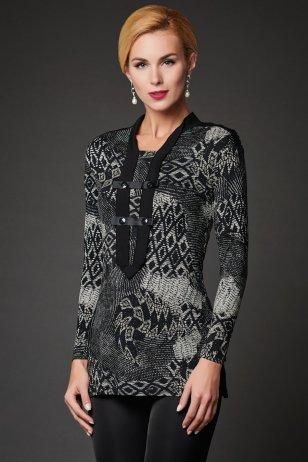 Блуза Гравюра