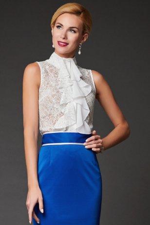 Блуза Жабо