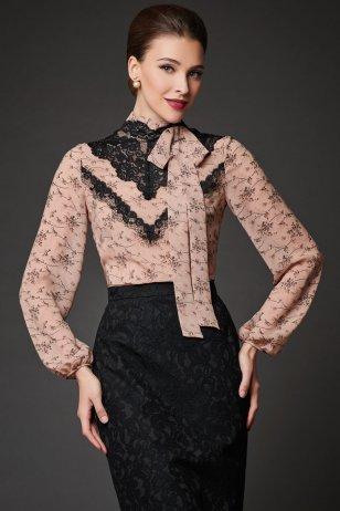Блуза Фламинго