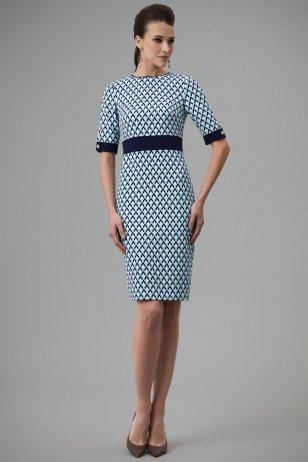 Платье Морское