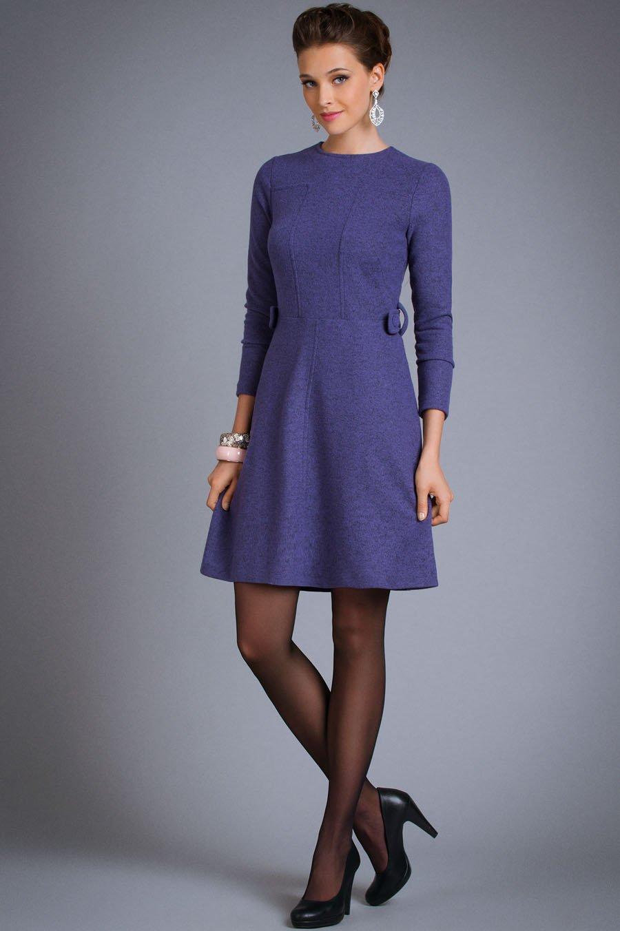 Какие трикотажные платья будут модными весной и летом, осенью и зимой 2014 года: посмотрите модели на фото и