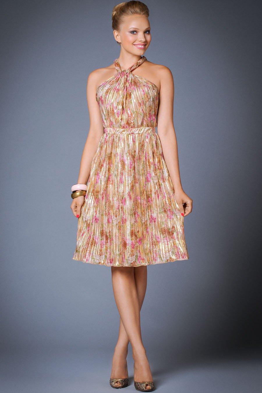 летнее платье на выпускной