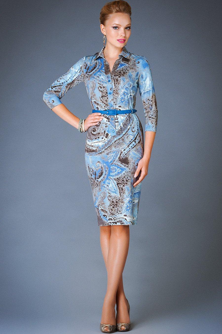 Модели платья из вискозы фото