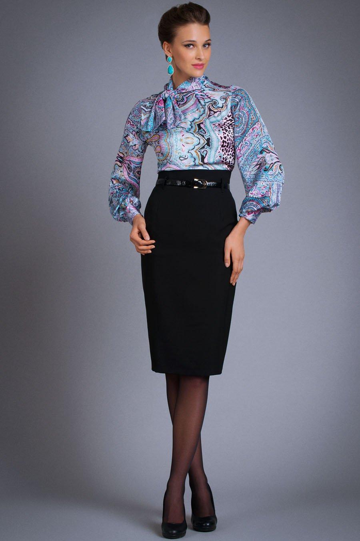 Блузки с завышенной талией 4